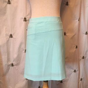 IZOD Turquoise Golf Skirt Skort, NWT, size 10
